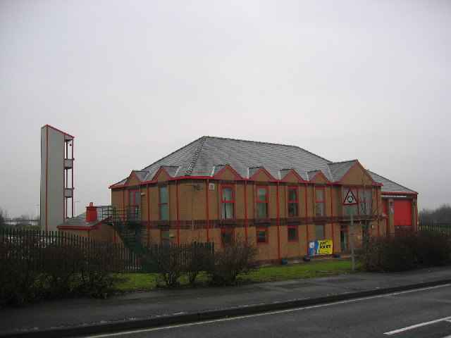 Fire Station, Consett