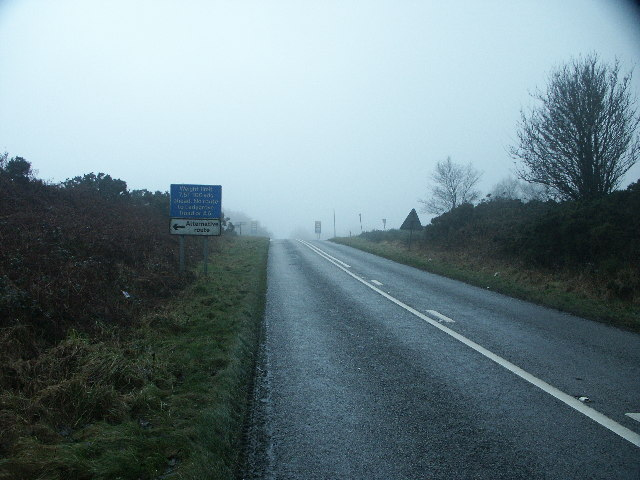 Misty Road to Darley Dale
