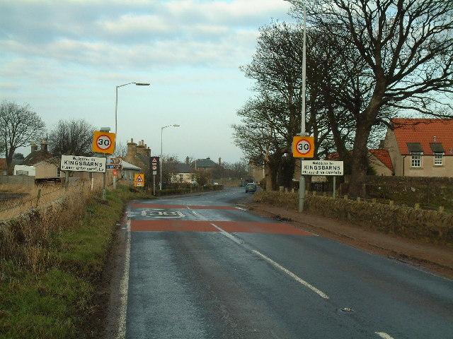 Kingsbarns village