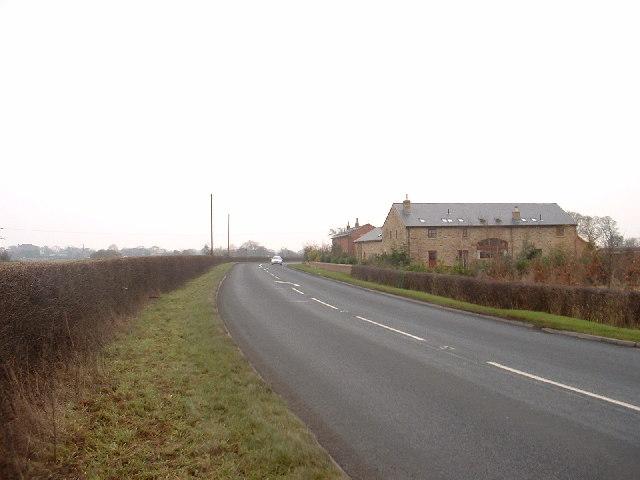 A586 at Tarnacre Hall