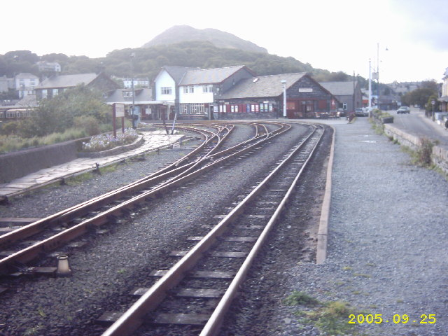 Porthmadog Steam Railway Station