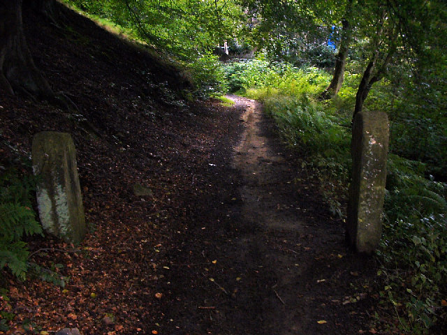 Crow Nest Road (footpath), Hebden Bridge