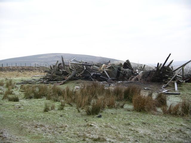 Rubbish dump, Bothwell Hill