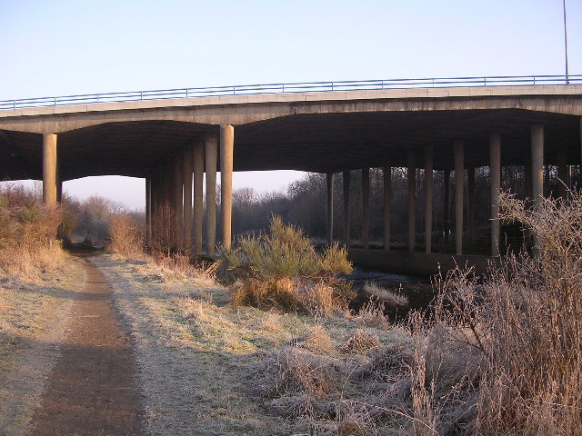 M74 Motorway Bridge across Avon Water