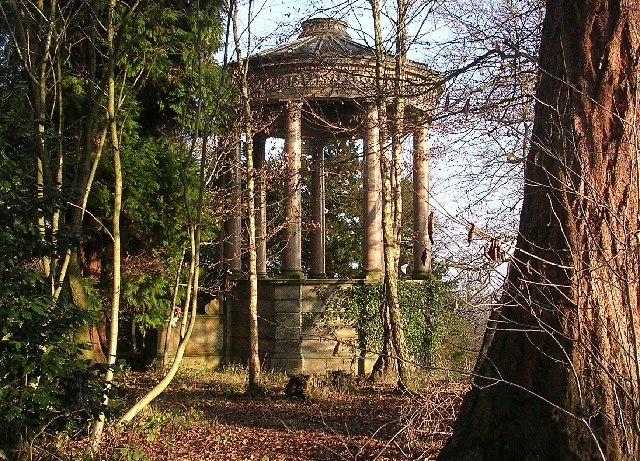 Folly near Barncuith House overlooking Avon Water