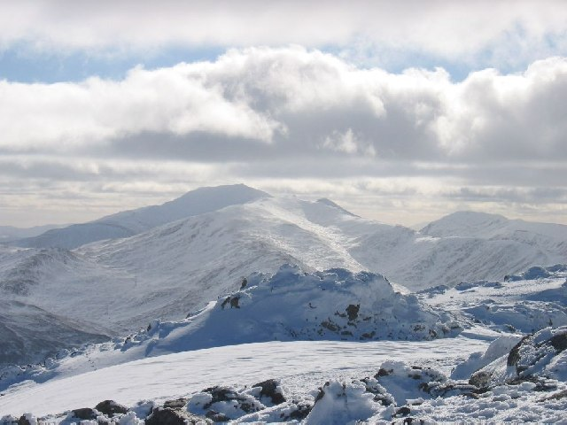 Looking towards Ben Lawers