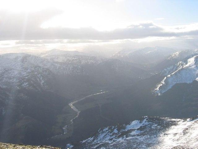View of Glen Lyon