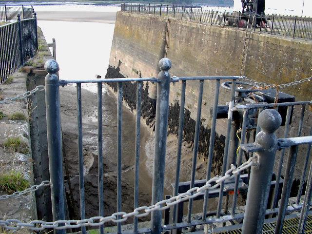 Entrance to Sharpness Old Dock