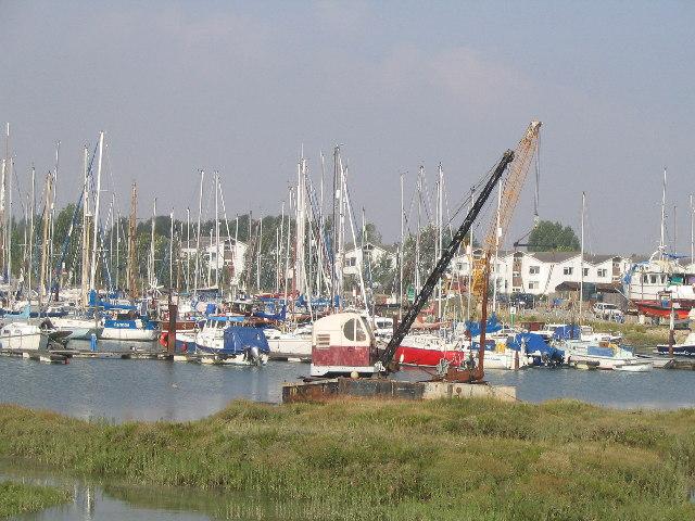 Tollesbury Marina