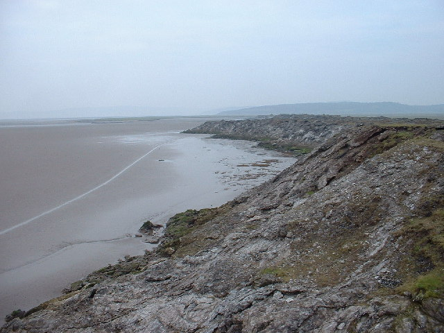 Limestone outcrop, Morecambe Bay