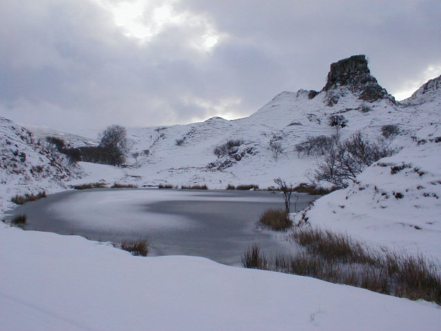"Lochan Mor-Rhugh in ""Fairy Glen"""