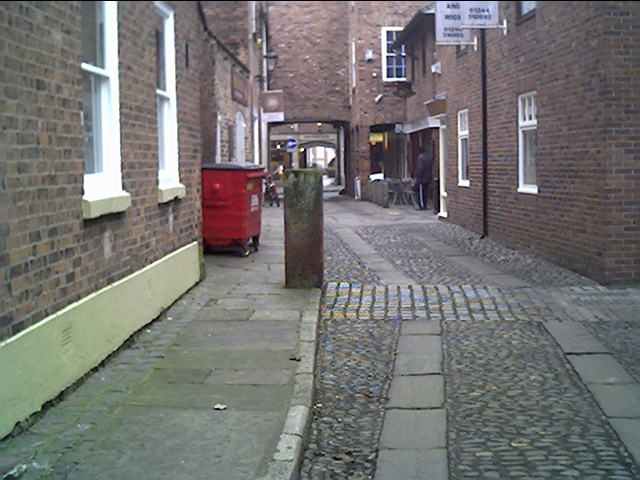 Abbey Green leading to Rufus Court