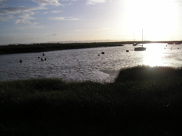 View of Stert Point from Burnham-on Sea