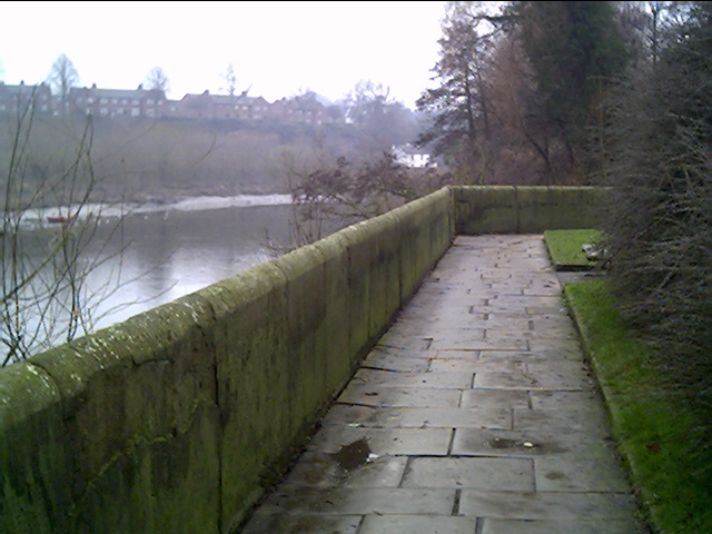 River Dee and Handbridge from Castle Drive
