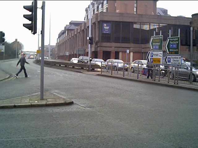 The Ring Road from the Junction of Watergate Street