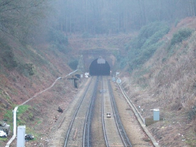 Railway Tunnel under Betchworth Park