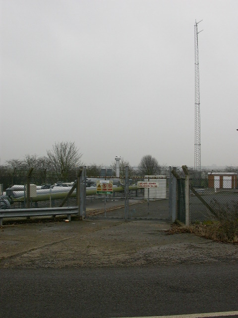 Mast at the Transco Depot