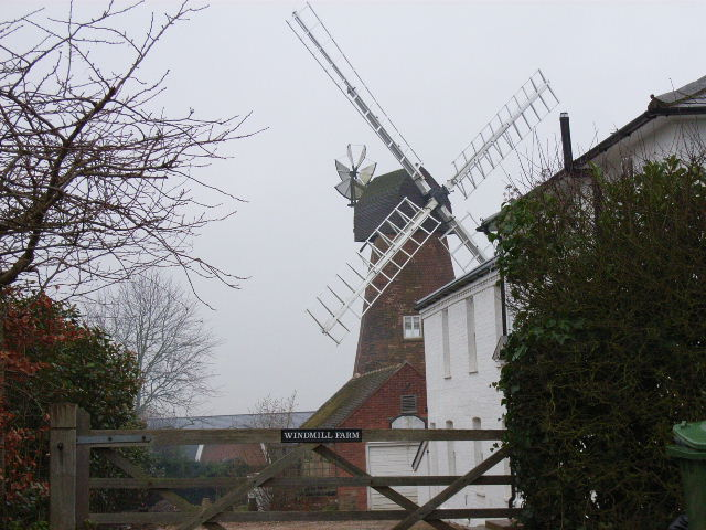 The windmill at Coleshill