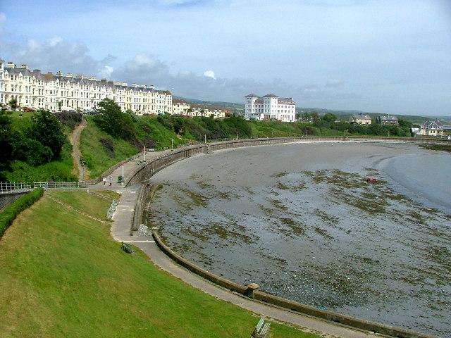 View of Port St Mary Bay