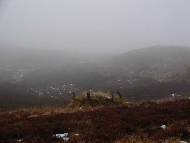 Grouse Butt on Glenshee Hill