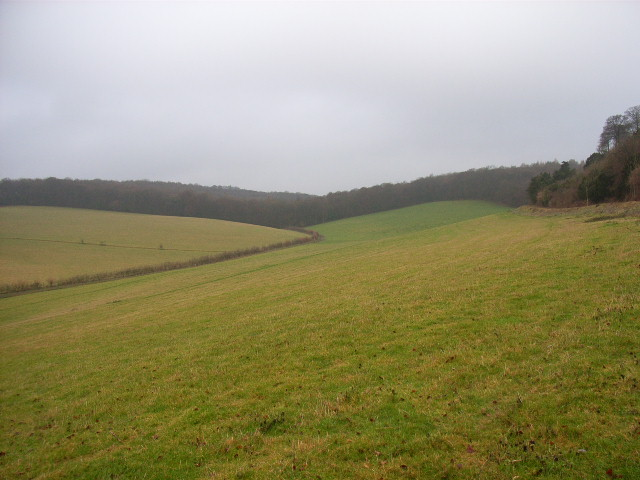 The valley to the west of Hughenden Manor