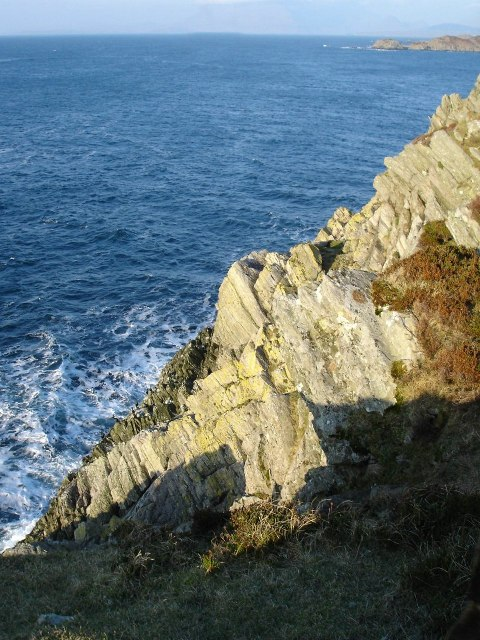 Cliff on Sleat