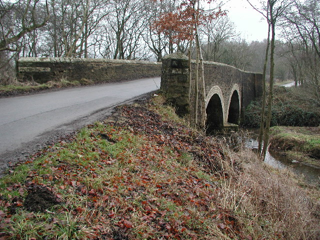 Partridgeclose Mill Bridge over the River Browney