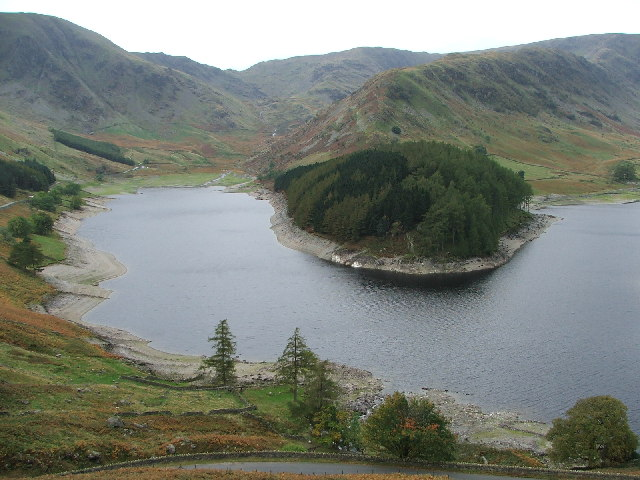 Head of Haweswater from the Old Corpse Road