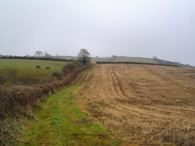 Countryside north of Compton