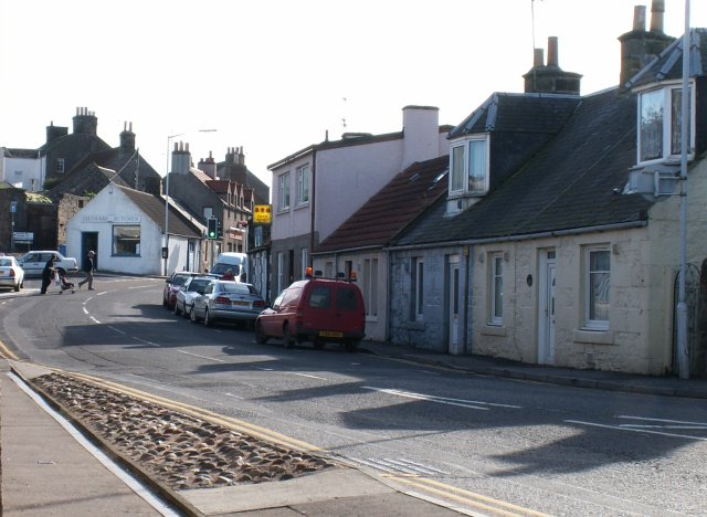 Leuchars village shops.