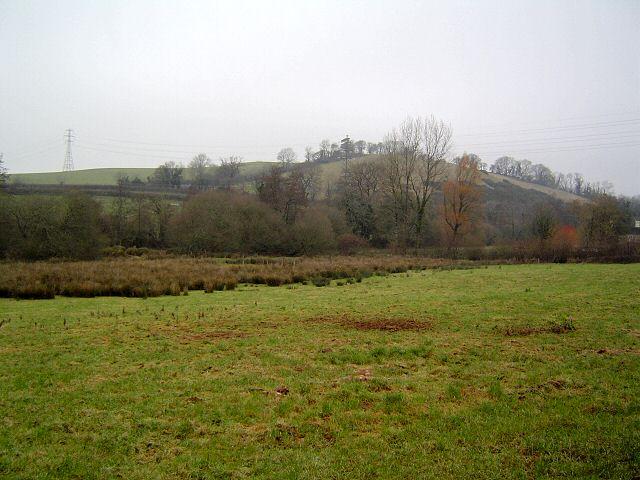 View of Blair Hill - south Devon