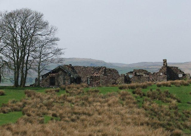 Ruined Farm house near Tebay