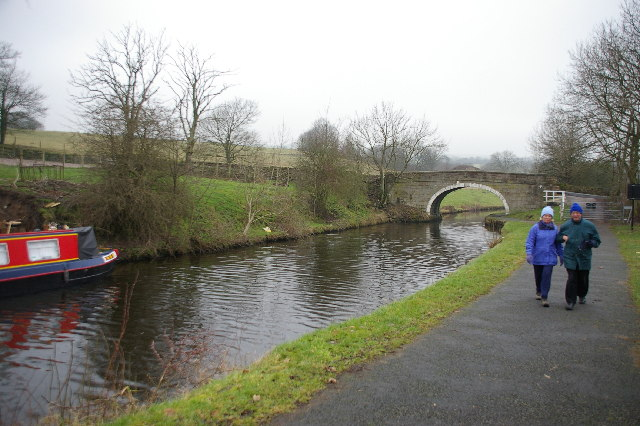 Leeds Liverpool Canal near Blakey Hall, Blacko