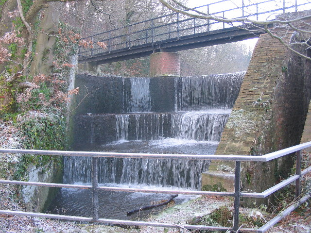 Spillway  at Bryn Celyn