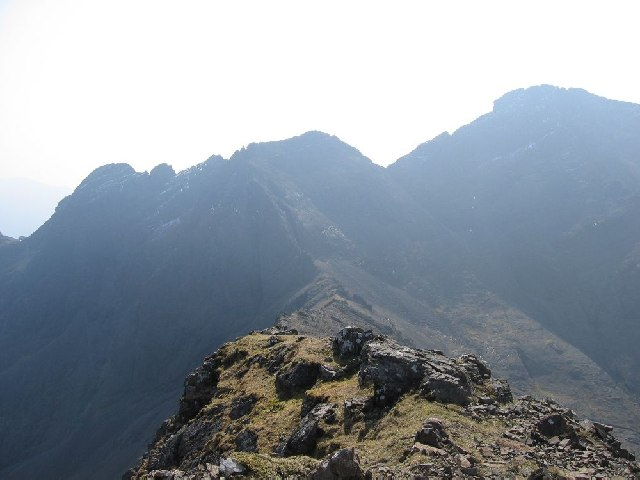 Looking SE from Sgurr Thuilm