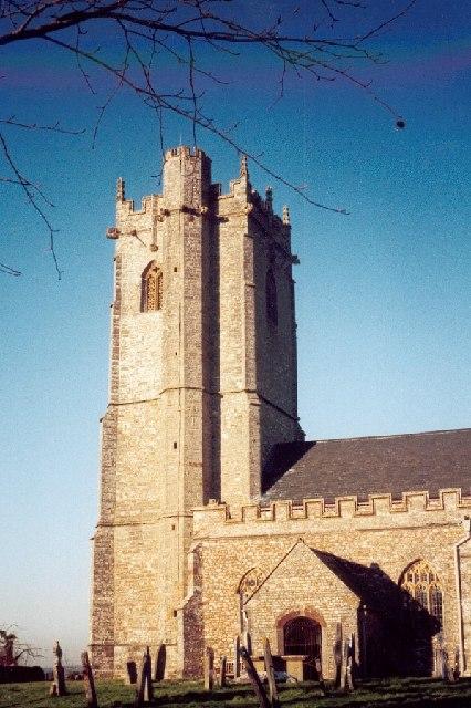 West Buckland church