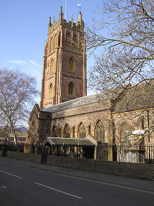 St. James's church, Taunton