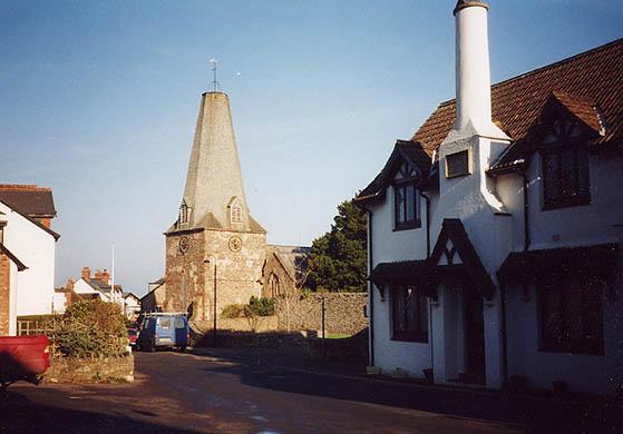 St. Dubricius church, Porlock