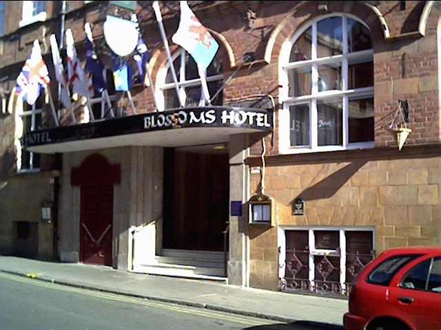 Blossoms Hotel, St John Street, Chester.