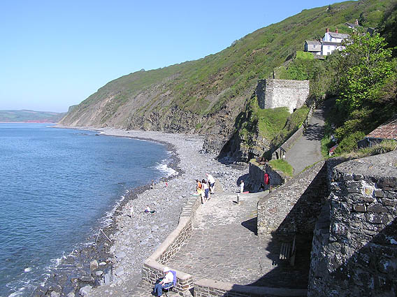 The coast at Bucks Mills