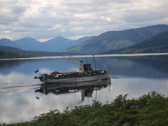 "The steam ship ""Sir Walter Scott"""