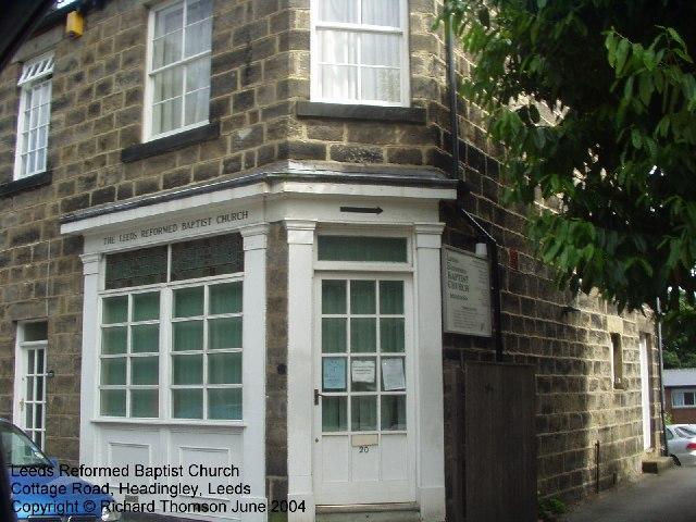Leeds Reformed Baptist Church, Cottage Road, Headingley