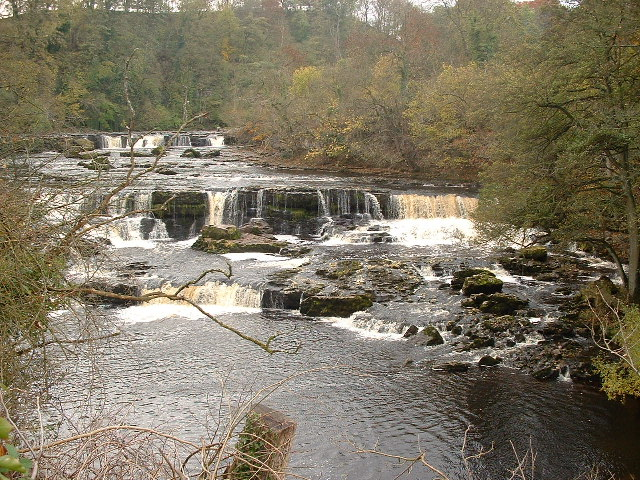 Aysgarth Falls from the bridge