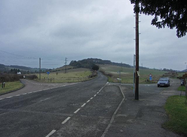 Road Junction on Chorley Road