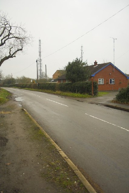 Radio Masts at Ridge Lane
