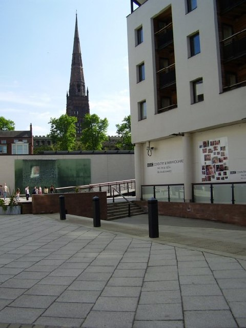 The closed BBC Open Centre.