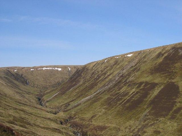 Northside of Cama Choire
