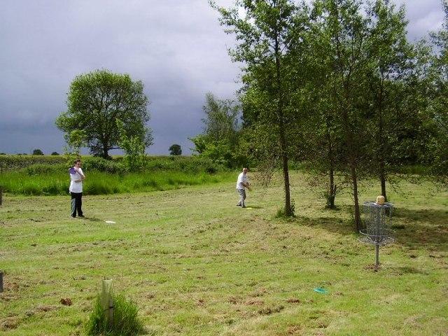 Quarry Park Disc Golf Course in Leamington Spa