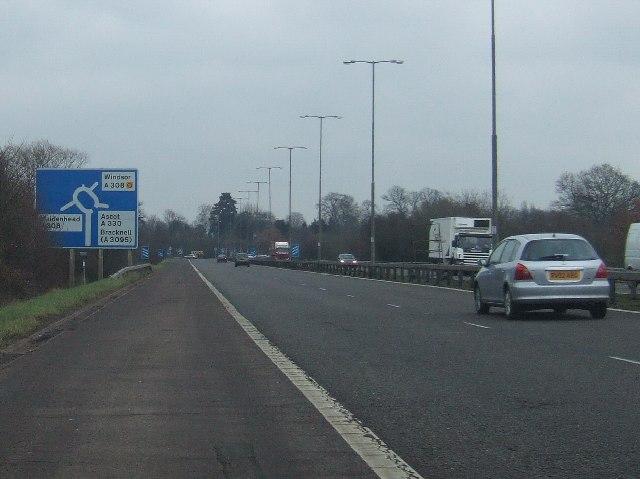 A308M Motorway Spur