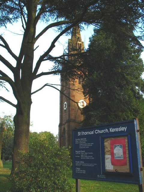 St. Thomas' Church, Keresley